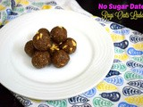 No Sugar Dates Ragi Oats Ladoo