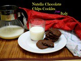 Nutella Chocolate Chip Cookies from Italy