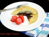 Nutella Stuffed Pancakes | How to make Stuffed Nutella Pancake