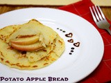 Potato Apple Bread | Apple stuffed Flatbread from Ireland