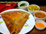 Quinoa Mysore Masala Dosa ~ a to z Indian Breakfast Dishes