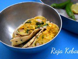 Raja Kebab | How to make stuffed Papad Rolls