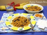 Rajma Tomato Biryani | How to make Rajma Biryani in Pan