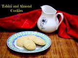 Tahini and Almond Cookies from Israeli