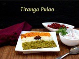 Tiranga Pulao | How to make Tricolour Rice