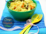 Vermicelli Vegetable Pulao ~ Easy Lunch Box Recipes for Kids