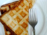 Waffle Grilled Cheese Sandwich