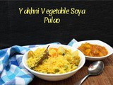 Yakhni Vegetable Soya Pulao