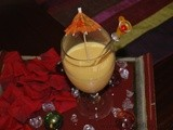 Chilled Mango Lassi~Summer Cooler Drink