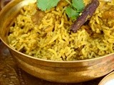 Mother-in-law's Chicken briyani - Tamil Nadu style recipe