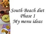 South beach diet Phase 1 meal ideas with South Indian food and spiced up buttermilk recipe