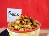 South beach diet phase 1 snacks : Roasted cauliflower popcorns