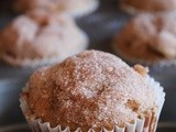 Eggless Apple Cinnamon Muffin Recipe | Eggless muffins recipe