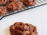 Eggless double chocolate cookies recipe | Eggless Cookie Recipe