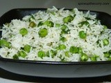 Green Peas Pulao (Mutter Pulao)