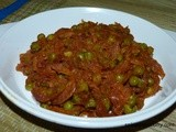 Green Peas Subzi (Mutter Subzi)