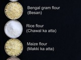List of Grains, cereal and flour in English, Hindi and other languages