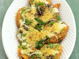Palak chaat recipe | Spinach chaat (Palak pakoda chaat recipe)