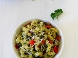 Parsley Cilantro Pesto Pasta Recipe | Pasta Recipe