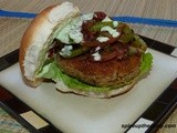 Rajma Burger (Red Kidney Beans Burger)