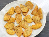 Suran chips recipe for fasting, vrat | How to make suran chips