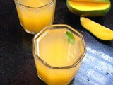 Aam ka panna/Raw mango spiced juice