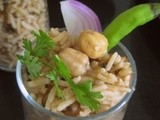 Channa/Chick peas Pulav