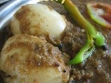 Chettinad style Egg curry/kuzhambu