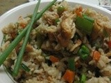 Chicken fried Rice -  Chinese style