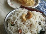 Coconut Rice/Thengai Sadham