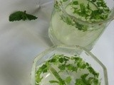 Cucumber mint cooler & Awards