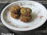 Falafels and wraps~Guest post for Edible Entertainment