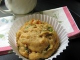 Healthy Veggie muffins for breakfast