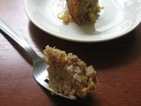 Moist Banana and honey cake
