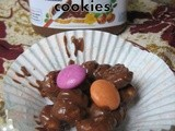 No bake/Cook -  Nutella cookies