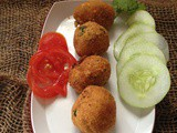 Paneer pops | Cottage cheese fritters