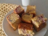 Raspberry jello vanilla marble cake - a guest post by my lil sister