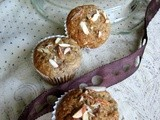 Strawberry Banana crunchy Muffins