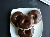 Baked Doughnuts with Chocolate Glaze ~ We Knead to Bake # 6