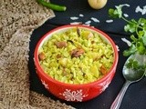 Batata Poha / Aloo Poha / Potato Rice Flakes