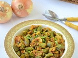 Bhendi Do Pyaaz / Okra Onion Masala