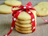 Biscuit Sablé / Eggless French Shortbread Biscuits