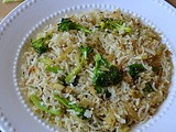 Broccoli Jeera Rice