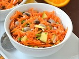 Carrot Salad With Orange Honey Dressing