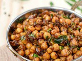 Channa Pepper Masala Recipe | Pepper Channa Recipe | Chickpeas Pepper Masala