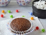 Chocolate Coconut Muffins ~ Eggless n Butterless