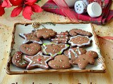 Chocolate Cookies / Chocolate Cut out Cookies / Christmas Cut out Cookies