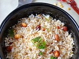 Coconut Rice ~ Easy Lunch Box Recipe
