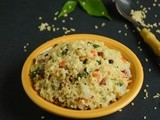 Cracked Wheat Upma / Cracked Wheat Recipes