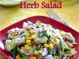 Herb salad  - For Gourmet Seven